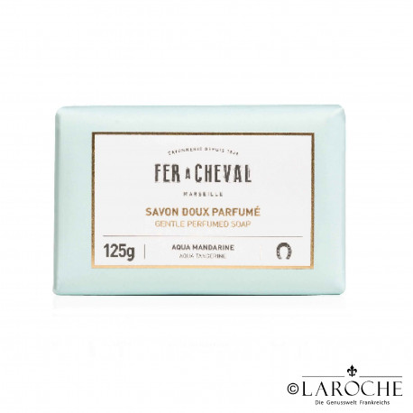 Fer à Cheval, Marseille soap - Aqua Mandarin