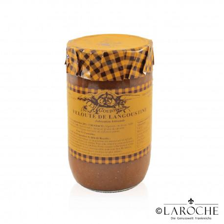 Azaïs-Polito, Velouté sauce of scampi