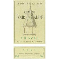 Château Tour de Calens, Graves white 2020