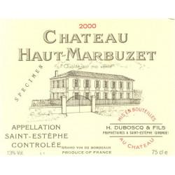 Château Haut Marbuzet 2009, Saint Estèphe Cru Bourgeois - Martin 87