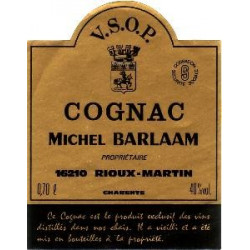 Michel Barlaam, Cognac VSOP  (1982) - 70cl