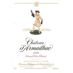 Château d'Armailhac 2002, Pauillac 5° Grand Cru Classé - Parker 89
