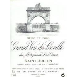 Château Léoville Las Cases 2006, Saint-Julien 2° Grand Cru Classé - MAGNUM - Parker 96