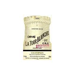 Château La Tour Blanche 2010, Sauternes 1° Grand Cru Classé - 37,5 cl - Parker 93
