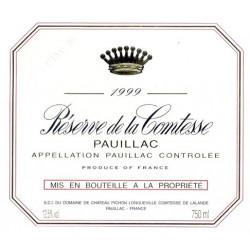 Réserve de la Comtesse 2010, Pauillac - Parker 89