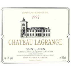 Lagrange 1989, Saint-Julien 3° GCC - Parker 90